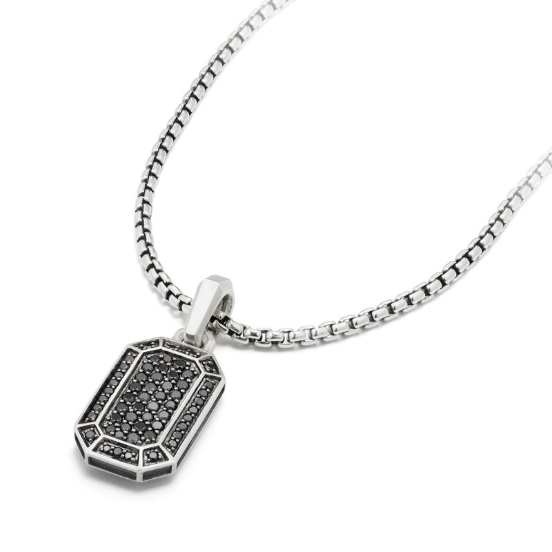 David Yurman Streamline® Pave Amulet with Black Diamonds
