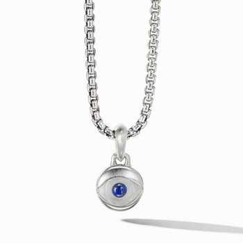 Evil Eye Amulet with Lapis Lazuli