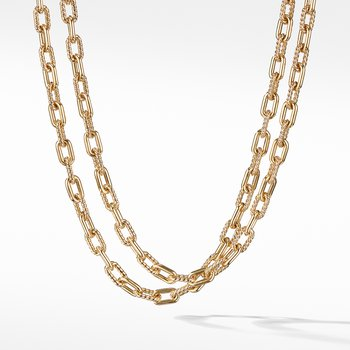 DY Madison Bold Necklace in 18K Gold, 6mm