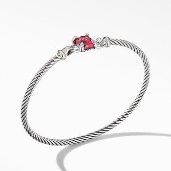 Chatelaine® Bracelet with Rhodolite Garnet and Diamonds