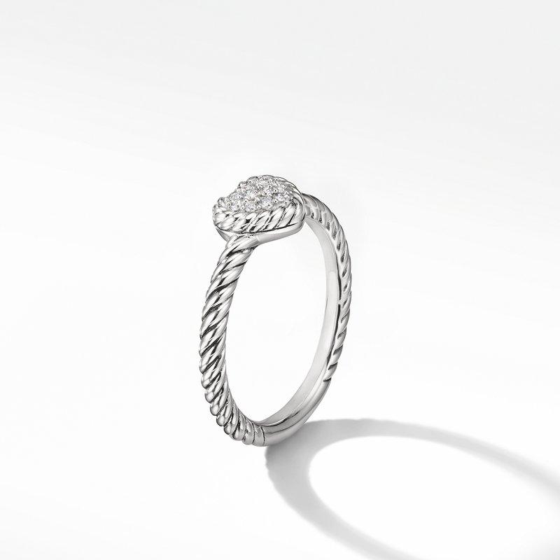 David Yurman Heart Ring with Diamonds