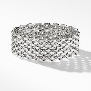 Thoroughbred® Three-Row Cuff Bracelet