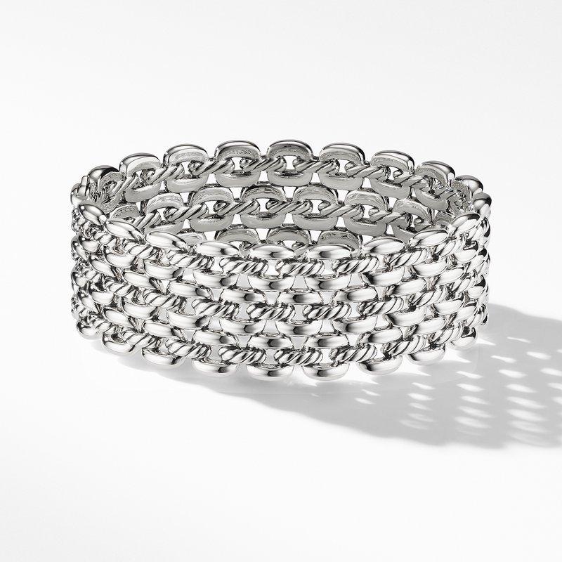 David Yurman Thoroughbred® Three-Row Cuff Bracelet