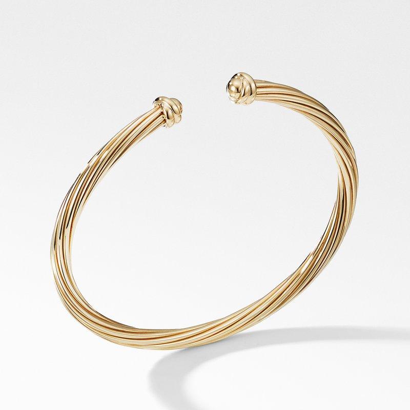 David Yurman Helena Bracelet in 18K Yellow Gold