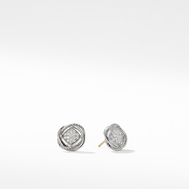 David Yurman The Crossover Collection® Earrings with Diamonds
