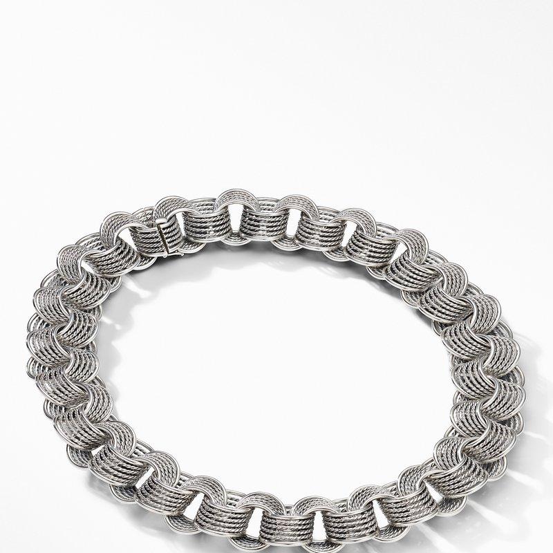 David Yurman DY Origami Medium Linked Necklace