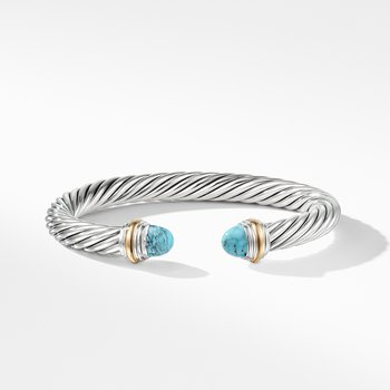 Bracelet with Turquoise and 14K Gold
