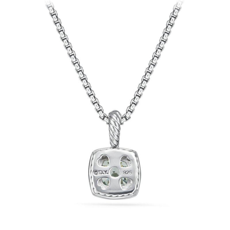 David Yurman Petite Albion® Pendant Necklace with Prasiolite and Diamonds