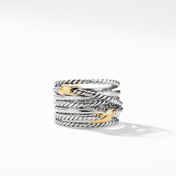 Double X Crossover Ring