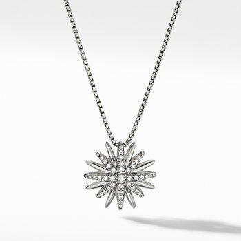 Starburst Pendant with Diamonds