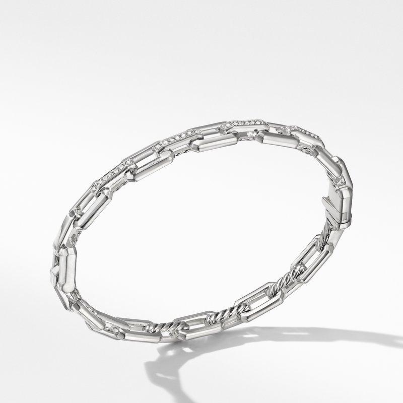 David Yurman Stax Link Bracelet with Diamonds