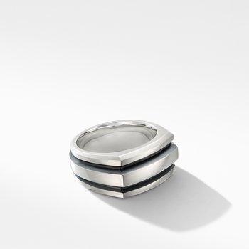 Deco Cigar Band Ring