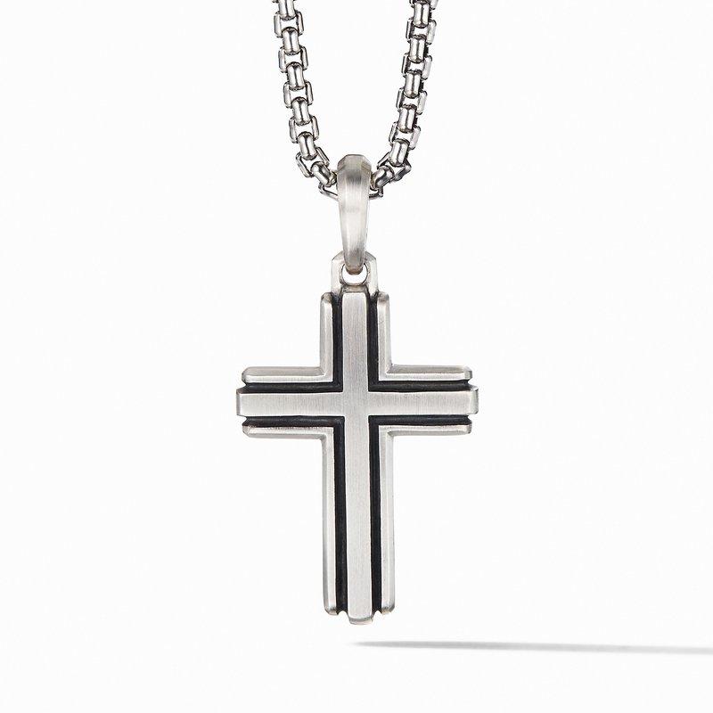 David Yurman Deco Cross Pendant