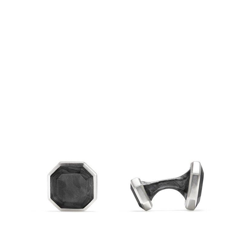 David Yurman Forged Carbon Cufflinks