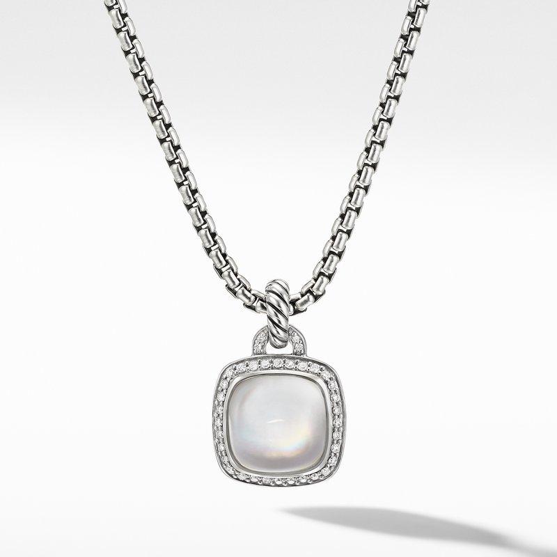 David Yurman Albion® Pendant with Rock Crystal and Diamonds
