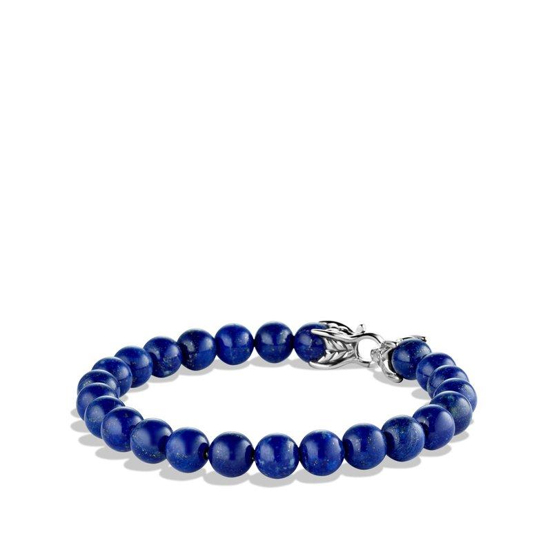 David Yurman Spiritual Beads Bracelet with Lapis Lazuli