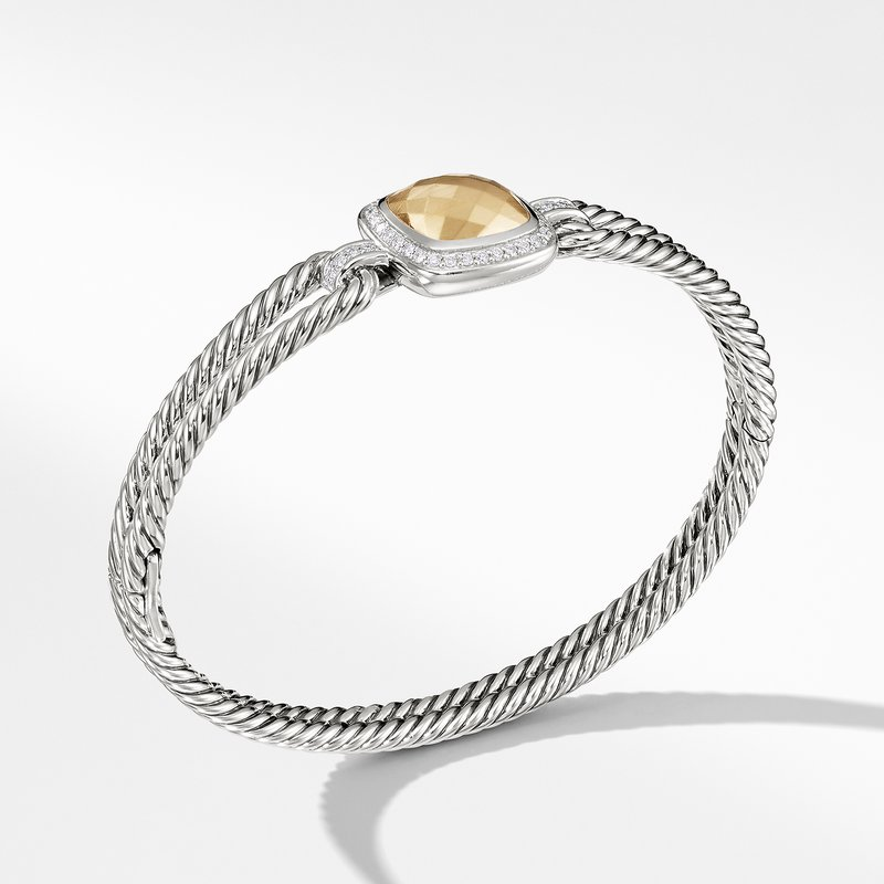David Yurman Albion Bracelet with Diamonds and Gold