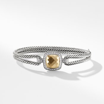 Albion Bracelet with Diamonds and Gold