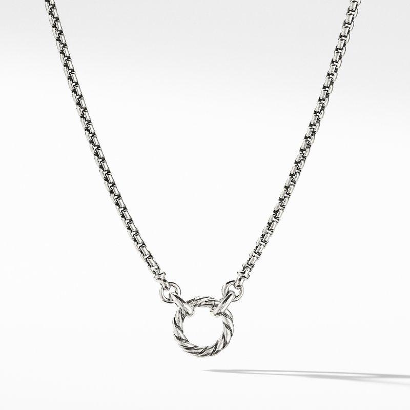 David Yurman Amulet Vehicle Box Chain Necklace