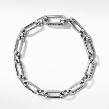 Elongated Open Link Chain Bracelet