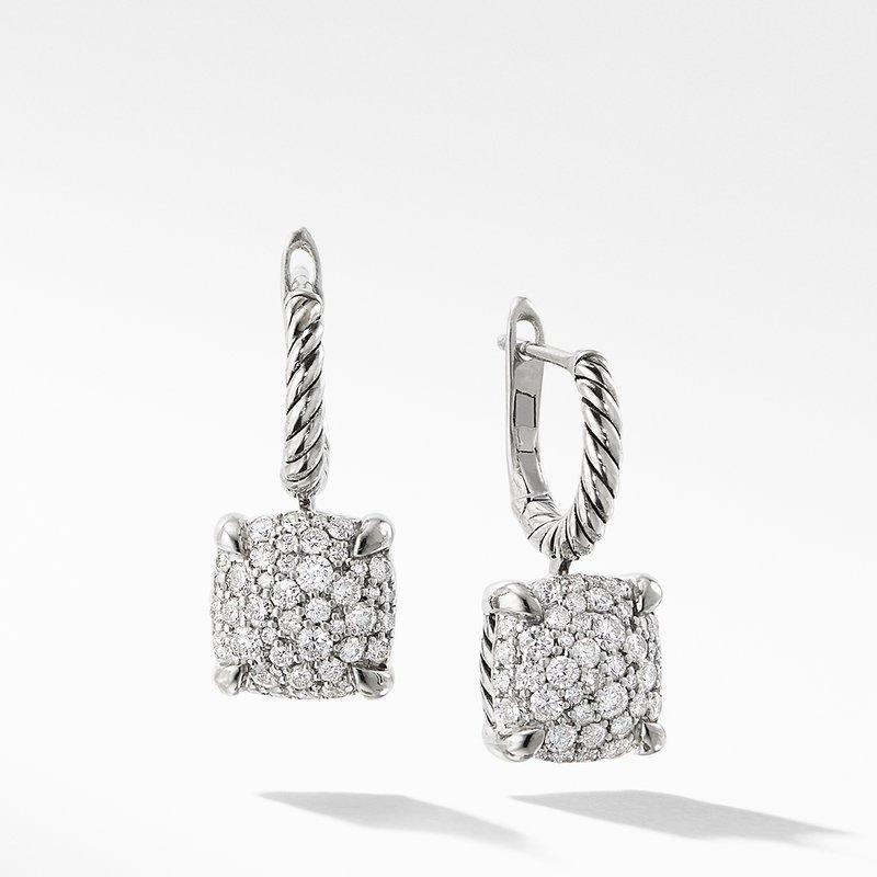 David Yurman Drop Earrings with Diamonds