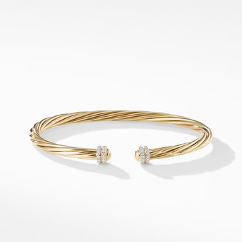 Helena Bracelet in 18K Yellow Gold with Diamonds