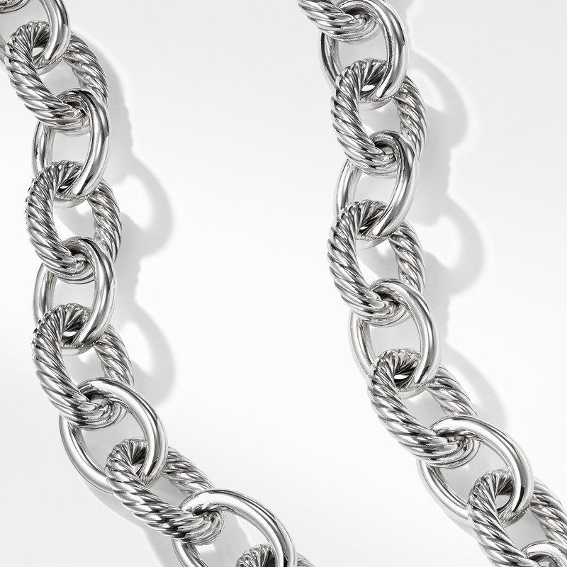 David Yurman Extra Large Oval Link Necklace