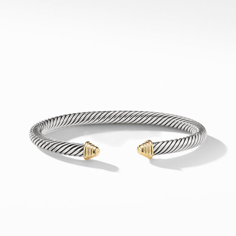 David Yurman Cable Classics Bracelet with Gold