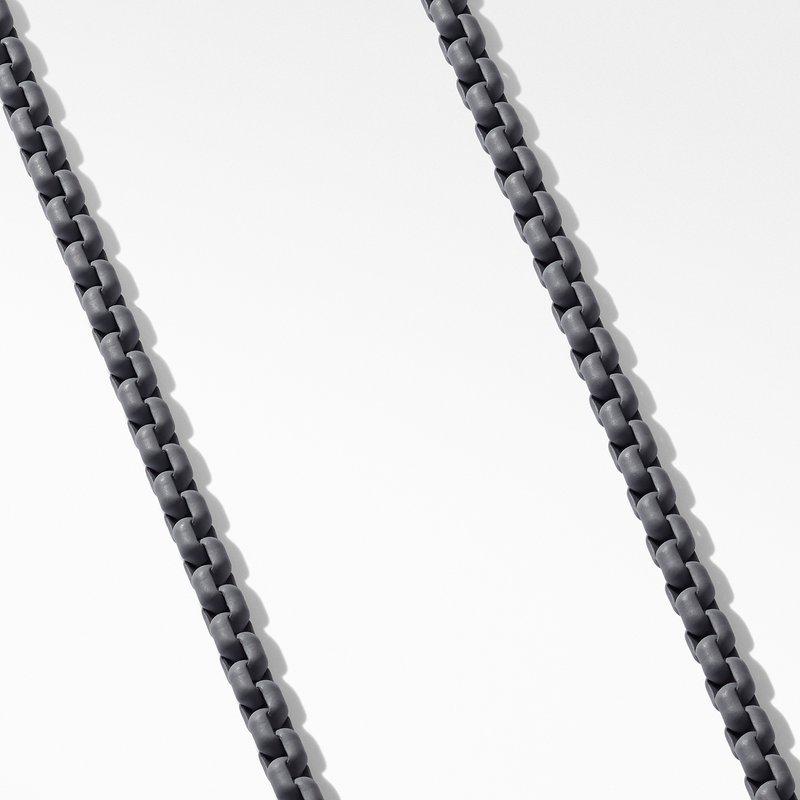 David Yurman Box Chain Necklace in Grey