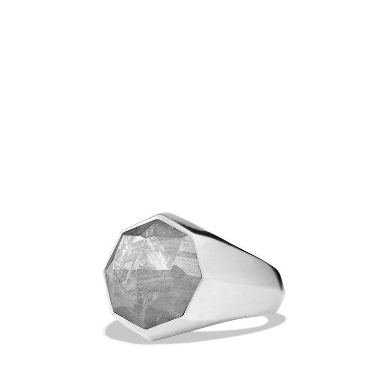 David Yurman Meteorite Signet Ring