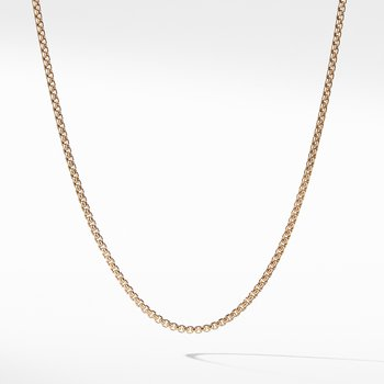 Small Box Chain in Gold