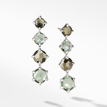 Chatelaine® Drop Earrings with Prasiolite