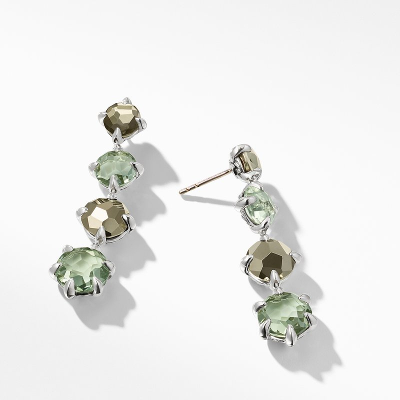 David Yurman Chatelaine® Drop Earrings with Prasiolite