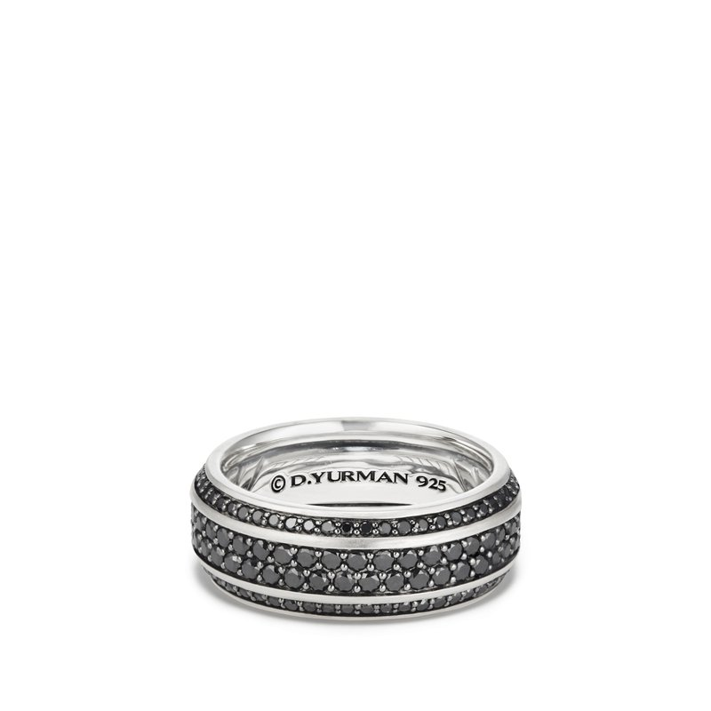 David Yurman Streamline® Band with Pavé Black Diamonds