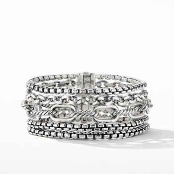 Multi-Row Chain Bracelet