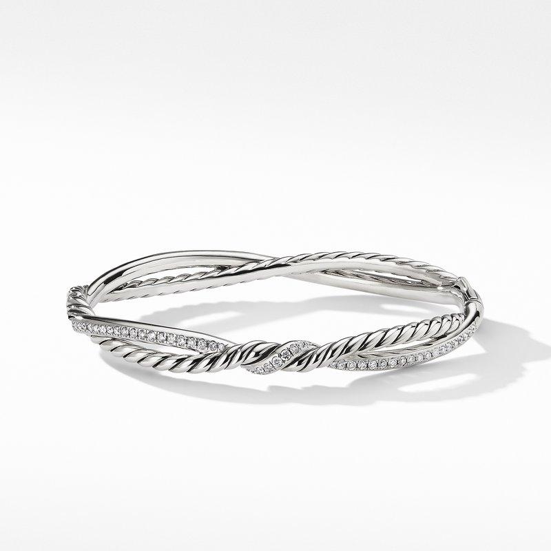 David Yurman Continuance Full Pavé Bracelet with Diamonds