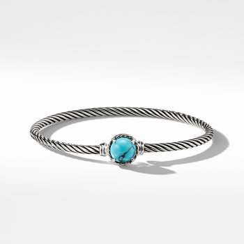 Chatelaine Bracelet with Turquoise
