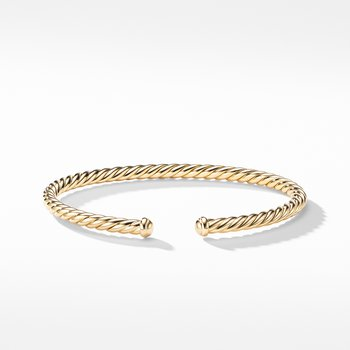 Petite Precious Cable Bracelet in Gold