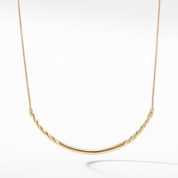 Pure Form® Collar Necklace in 18K Gold