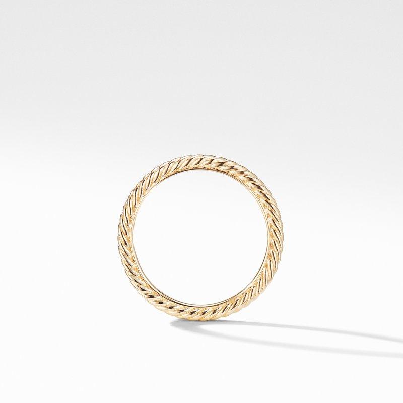 David Yurman Ring in 18K Gold