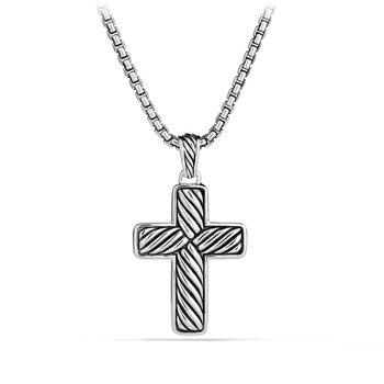 Exotic Stone Cross with Black Onyx