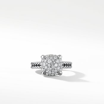 Châtelaine Ring with Diamonds