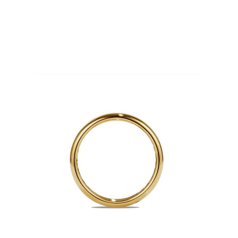 David Yurman DY Classic Band Ring in 18K Yellow Gold