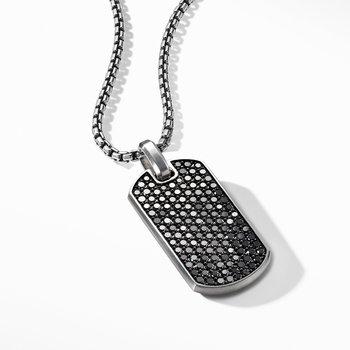 Streamline® Tag with Black Diamonds