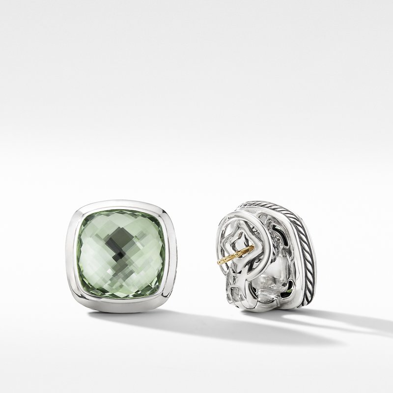 David Yurman Albion® Stud Earrings with Prasiolite