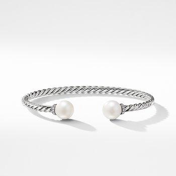 Solari Bracelet with Diamonds and Freshwater Pearl