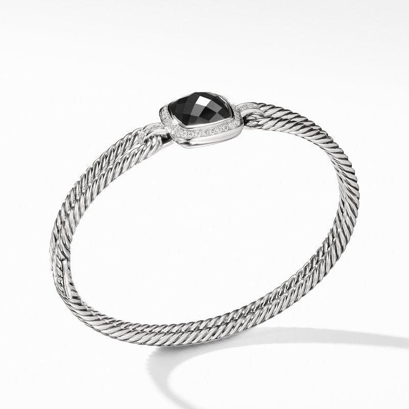 David Yurman Albion® Bracelet with Black Onyx and Diamonds