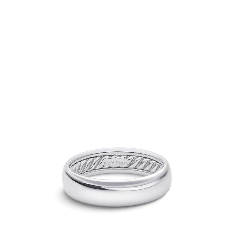 David Yurman Band Ring in Platinum
