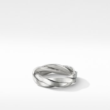 Twisted Cable Band Ring