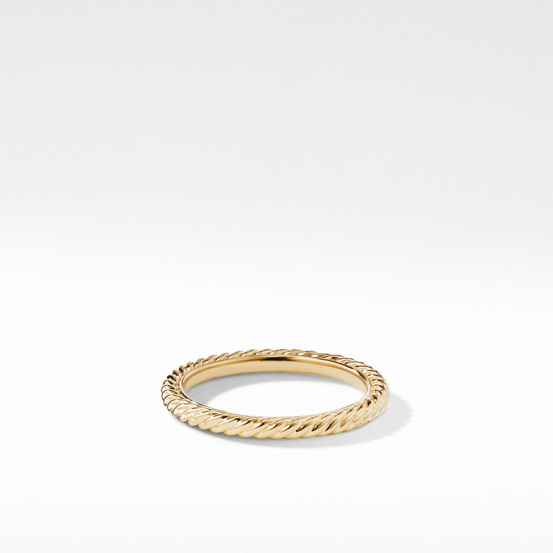 David Yurman Ring in 18K Gold